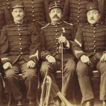 Groupe Danger histoire Alphonse danger commandant de pompiers