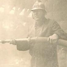 Emile Danger sapeur pompier volontaire capitaine des pompiers